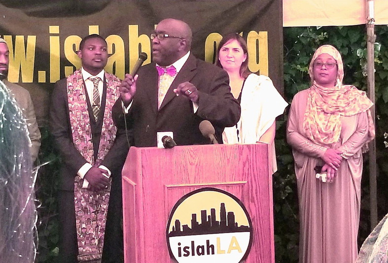 Anti-Racism Rally at Islah LA