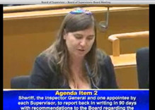 Speaking to the LA County Board of Supervisors