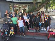 LA Pride Parade Gathering