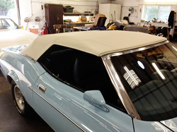 1973 Ford Mustang Convertible Top-2