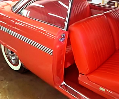 1956 Red Crown Victoria