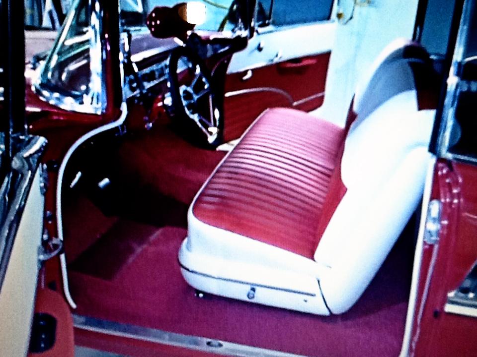 1956 Red Chevrolet