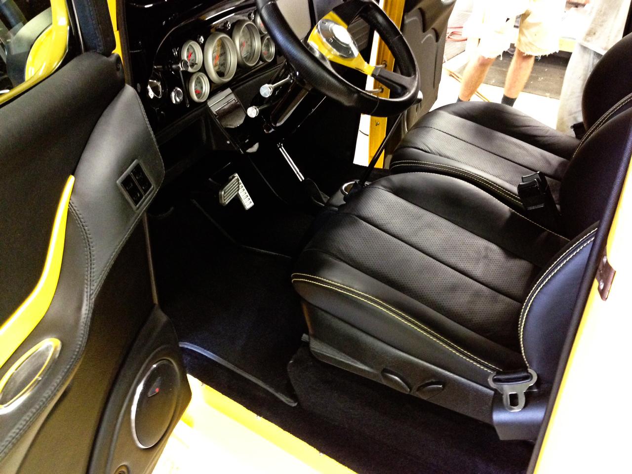 1932 Chevy Yellow Truck