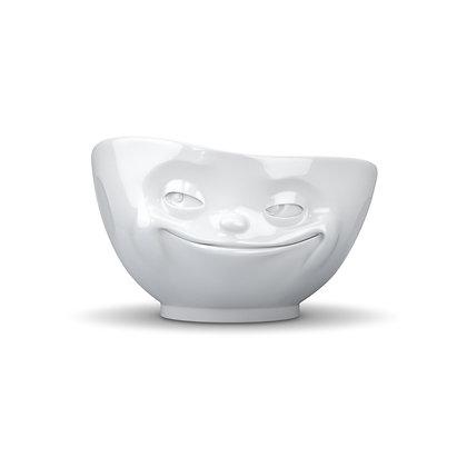 Schale 500ml grinsend weiss