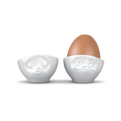 Eierbecher 2er Set küssend & verträumt