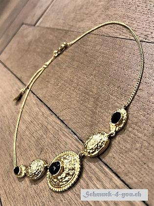 Steinkult - Halskette vergoldet