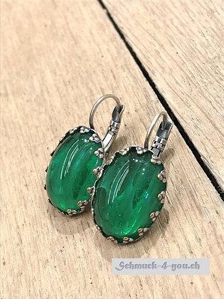 Ohrhänger grün