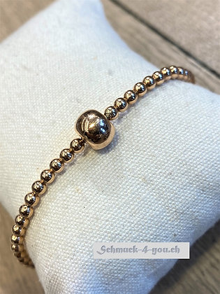arubaS - Armband silber, rosevergoldet