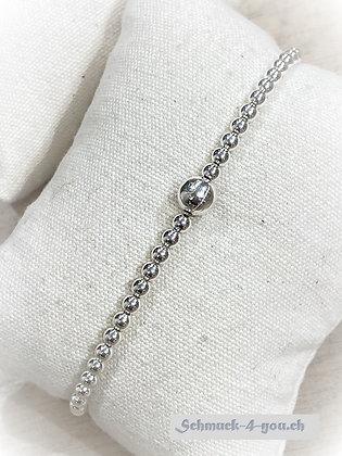 arubaS - Armband Silberkugeln mit 5mm grosser Silberkugel