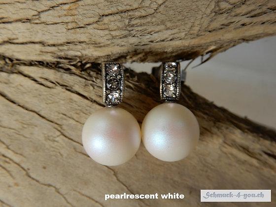 Ohrstecker Swarovski Perlen, diverse Farben
