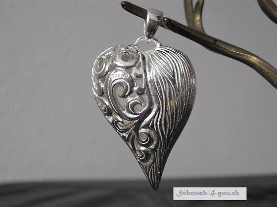 Anhänger Herz Silber 925, drei Grössen