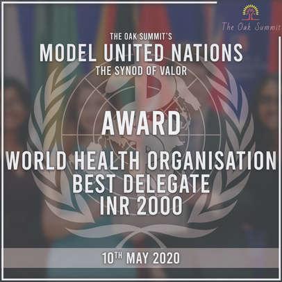 Best Delegate Cash Prize