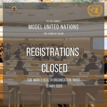 Registrations Closed