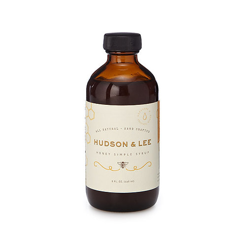 Honey Simple Syrup by Hudson & Lee