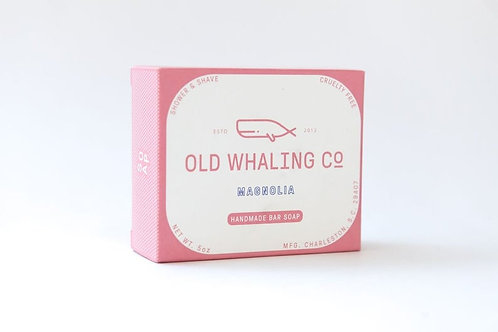 Old Whaling Co Magnolia Bar Soap