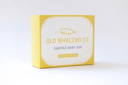 Old Whaling Co Baby Bar Soap