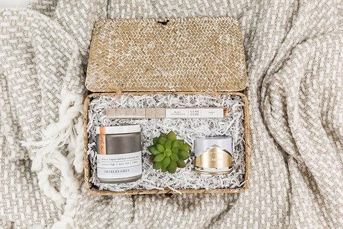 Mini Periwinkle Tea Chic Gift Basket