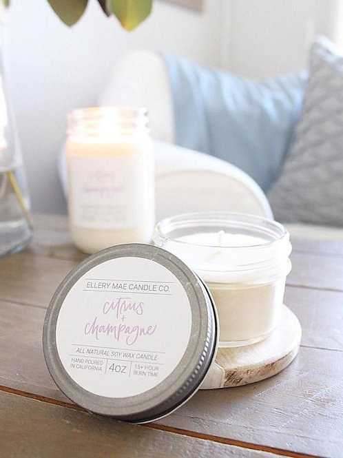 Citrus & Champagne Candle