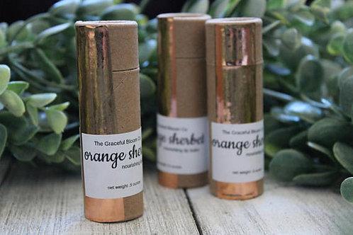 Orange Sherbet Lip Balm by Graceful Bloom Co.