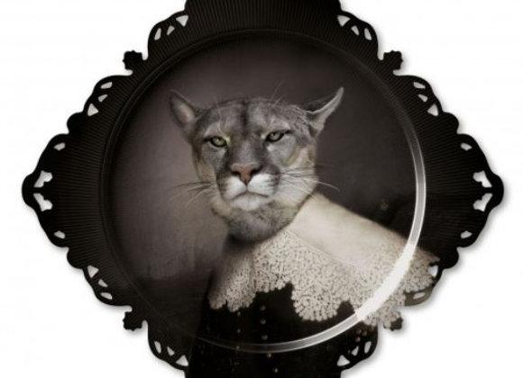 Urbin The Magnificent Big Cat Tray/Wall Art