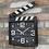 Thumbnail: Movie Makers' Clapperboard Metal Clock