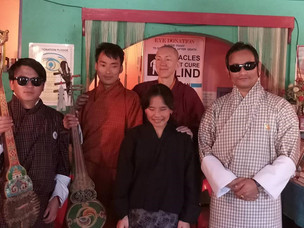 Supporting the Blind Music Training Centre of Bhutan