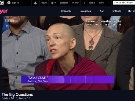 Emma Slade on The Big Questions with Nicky Campbell