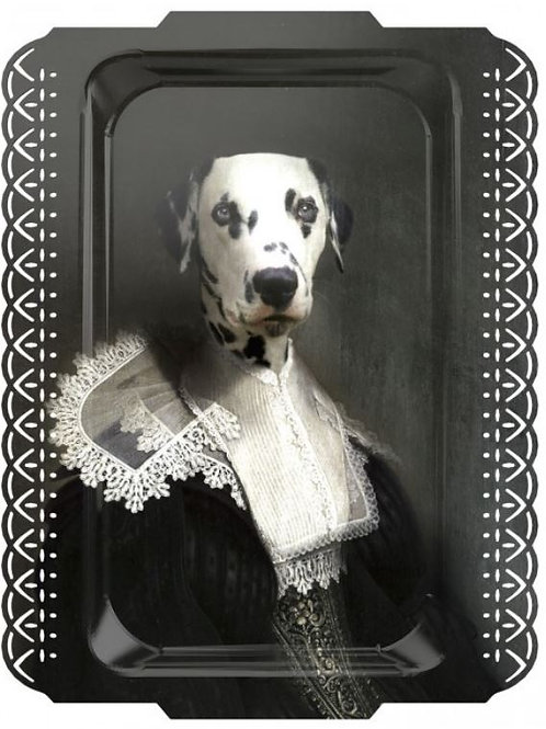 Sir Sapho The Great Dane by ibride Tray, Wall Art