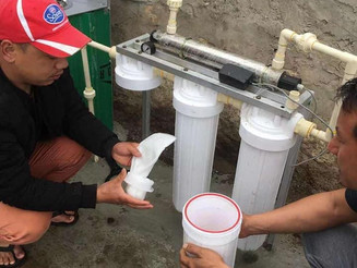 Clean water supplies for Semjong Primary School, Tsirang District