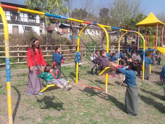 Playground Opens in Meritsmo