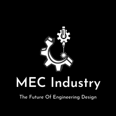 MEC Industry Logo Design B_w Sample