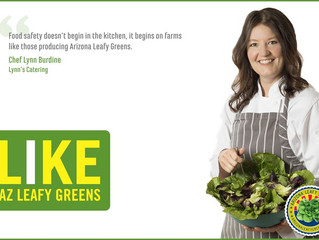 Join Arizona Leaders and #LikeAZLeafyGreens!
