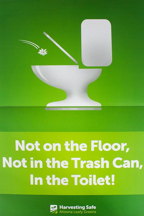Toilet Poster - English