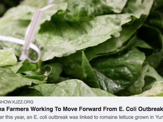 Local NPR affiliate interviews grower John Boelts about food safety updates