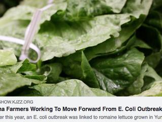 Local NPR affiliate interviews grower John Boelts about food safety updates