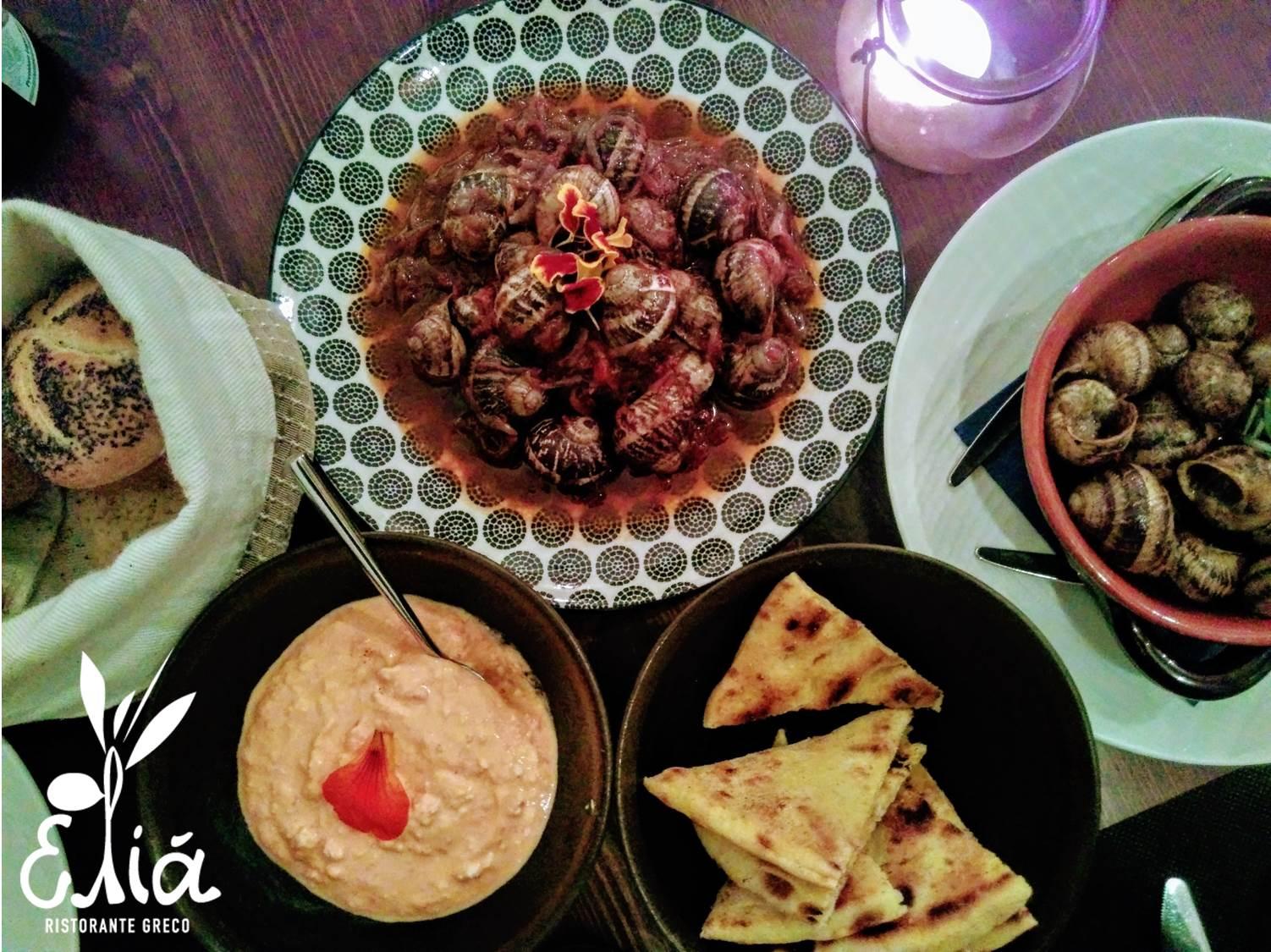 Elià ristorante greco a Trieste
