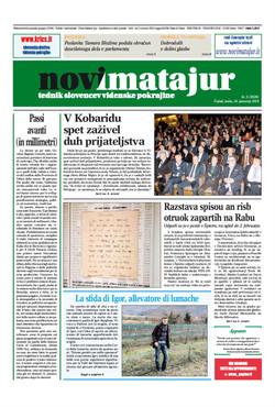 Prima pagina Novimatajur