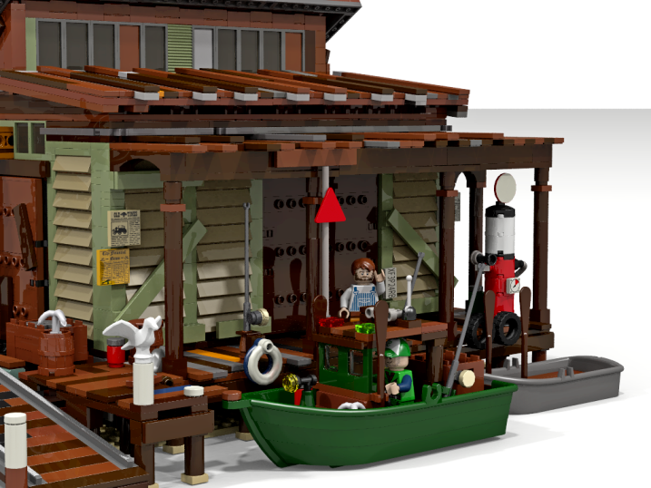 Boat repair shop