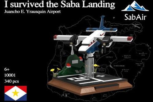 I survived the Saba Landing