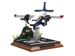 SabAir-plane & base