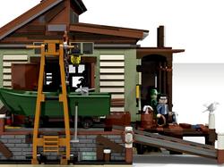 Boat repair shop