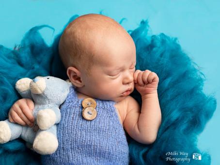 8 days old baby Olivier- 24.06.1019