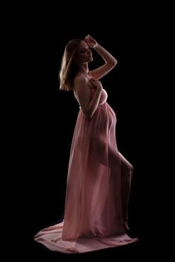 Jasno rozowa sukienka-rozmiar uniwersalny