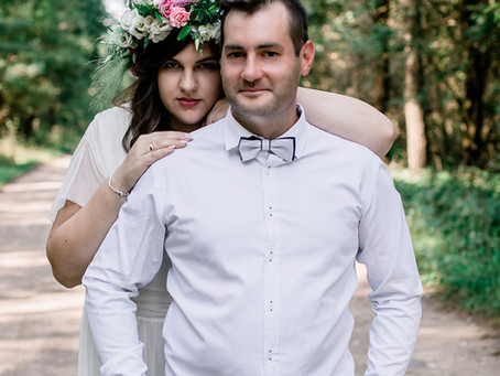 Plener ślubny Gabrieli i Alana- 22.08.2021