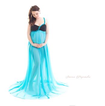 Niebieska sukienka-rozmiar uniwersalny