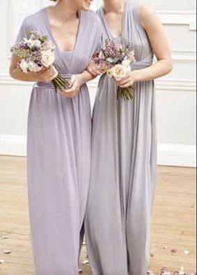 Lososiowa sukienka- rozmiar M-L