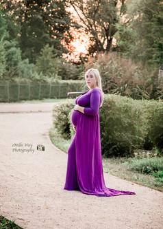 Fioletowa sukienka- rozmiar uniwersalny
