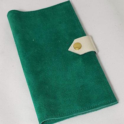 PEAU-RTE CHEQUIER vert