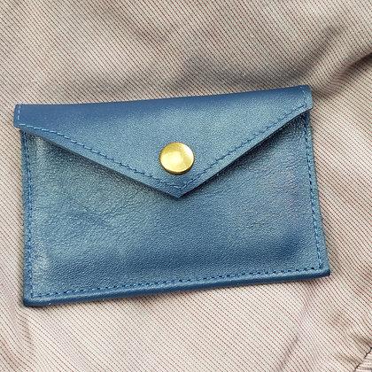 PEAU-RTE CARTES blue jeans