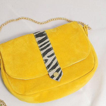 PEAU-WER jaune/zèbre